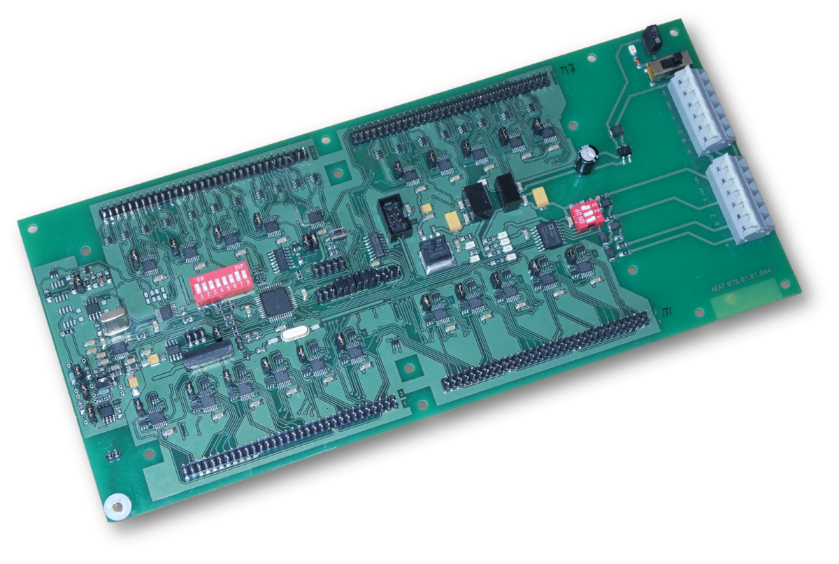 Контролер резистивних термопідвісок КРТ-16